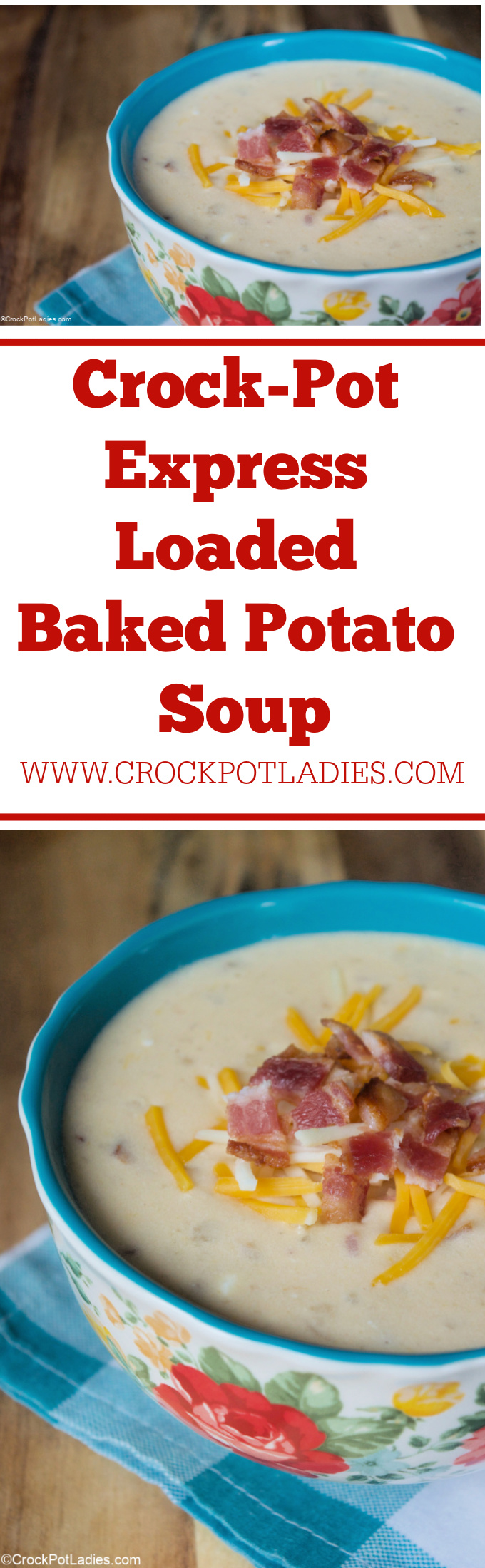 Crock-Pot Express Loaded Baked Potato Soup