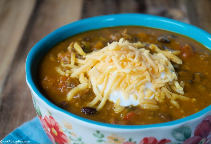 Crock-Pot Express Pumpkin Chili