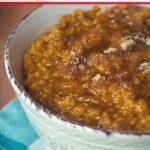 Crock-Pot Express Pumpkin Pie Oatmeal