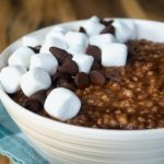 Crock-Pot Hot Chocolate Oatmeal
