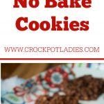 Crock-Pot No Bake Cookies