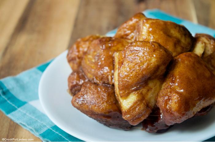Crock-Pot Pumpkin Spice Monkey Bread