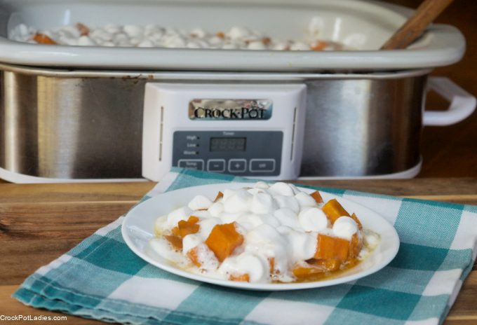 Crock-Pot Sweet Potato Casserole