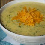 Crock-Pot Express Broccoli Cheddar Cheese Soup