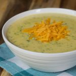 Crock-Pot Express Broccoli Cheddar Cheese Soup