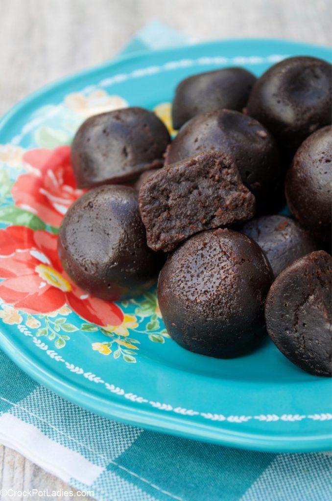 Crock-Pot Express Brownie Bites
