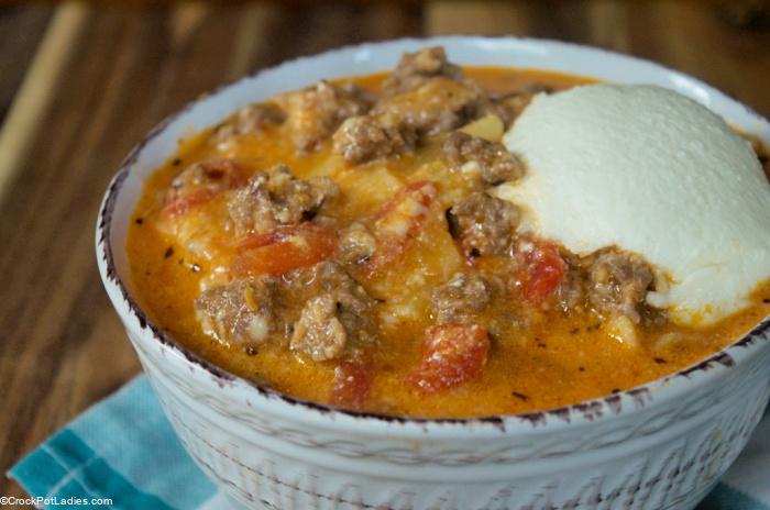Crock-Pot Express Easy Lasagna Soup