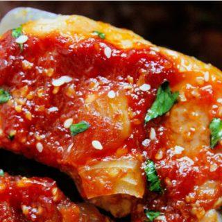 Crock-Pot Asian Garlic Pork Chops